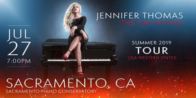 Jennifer Thomas - The Fire Within Tour (Sacramento, CA)