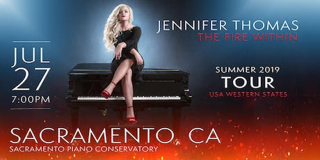 Jennifer Thomas - The Fire Within Tour (Sacramento, CA) tickets