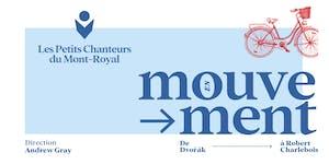 En mouvement:  de Dvořák à Robert Charlebois