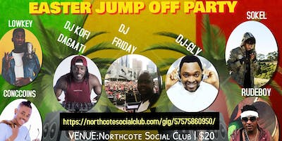 EASTER JUMP OFF PARTY FT. DJ KOFI DAGAATI + DJ FRI