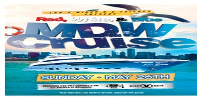 **MEMORIAL DAY PARTY CRUISE** **RED,WHITE & BLUE