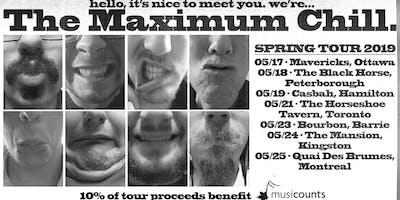 The Maximum Chill Spring Tour w/ Varitones + Hard Labour