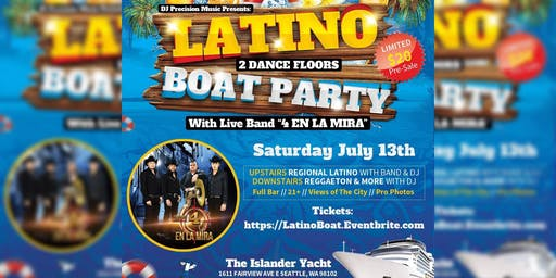 Latino Boat Party With Band