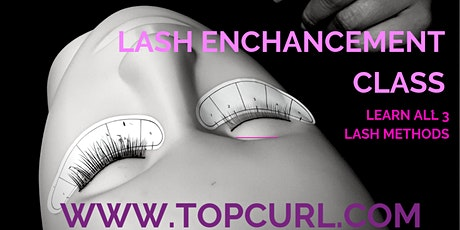 Lash 101-Strip, Individual, & Extension Semi-Permanent Eyelash Class tickets