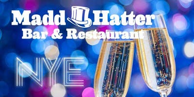 """""""All That Glitters"""" New Year's Eve at Madd Hatter Hoboken"""