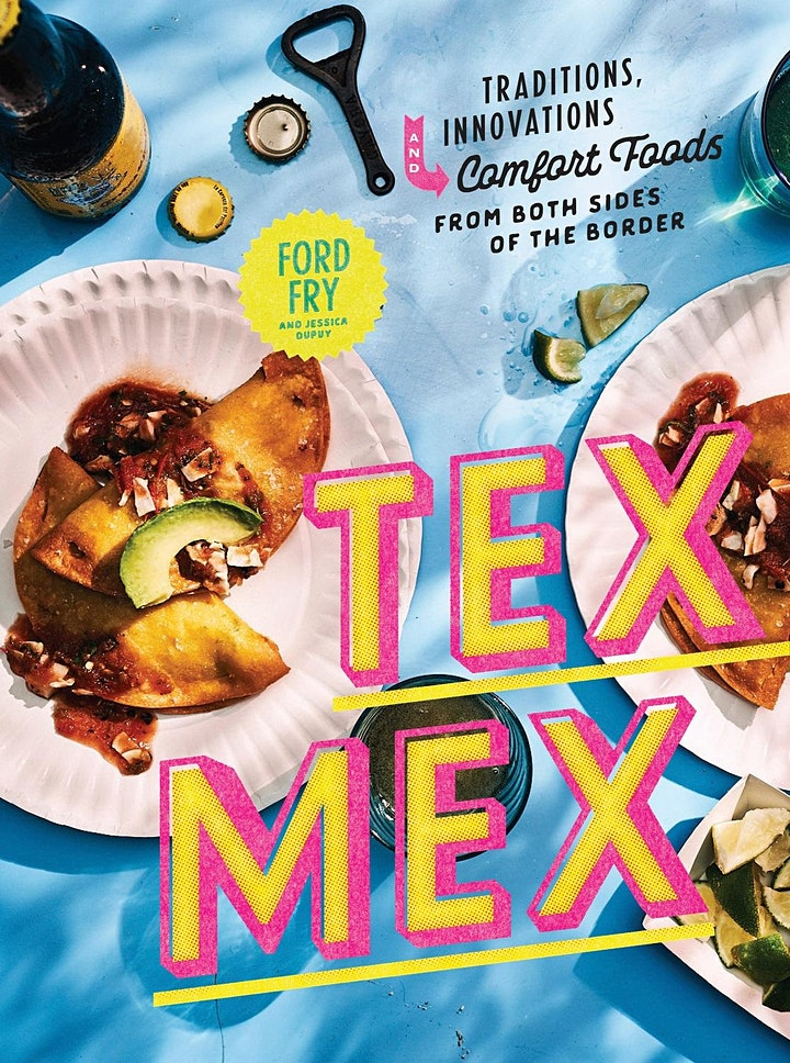 Ford Fry's TEX-MEX Cookbook Launch image