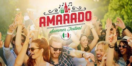Amarado Summer Festival tickets