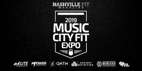 3rd Annual Music City Fit Expo 2019 tickets