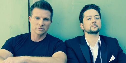 STEVE BURTON AND BRADFORD ANDERSON LIVE!!! GH FAN CLUB!