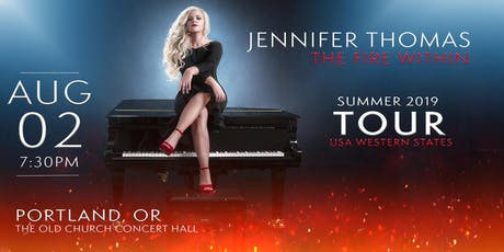 Jennifer Thomas - The Fire Within Tour tickets