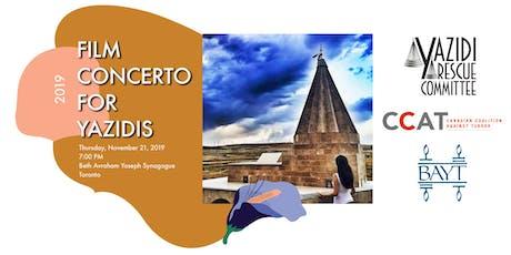 Film Concerto For Yazidis tickets