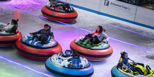 Bumper Cars On Ice: Sydney