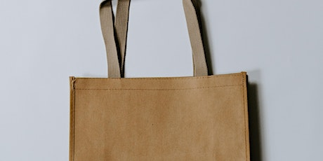 Sustainable Shopping Bag Workshop tickets
