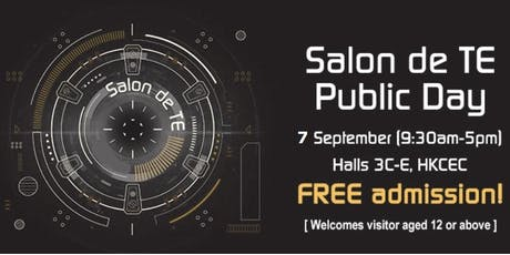 Salon de TE Public Day tickets