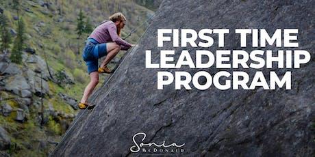 First Time Leadership Workshop - Brisbane tickets