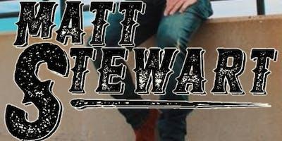 Matt Stewart at Kanza Hall