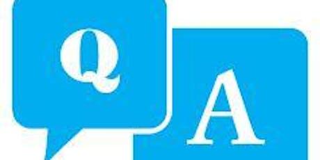 Technology Q&A Sebastopol June2019 tickets