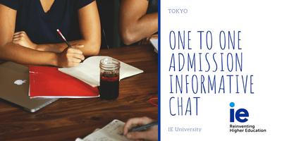One to One Admission Informative Chat - Tokyo