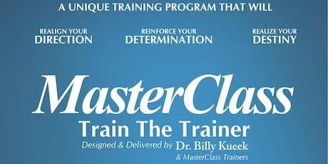 MasterClass Train The Trainer  tickets
