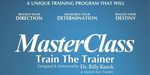 MasterClass Train The Trainer