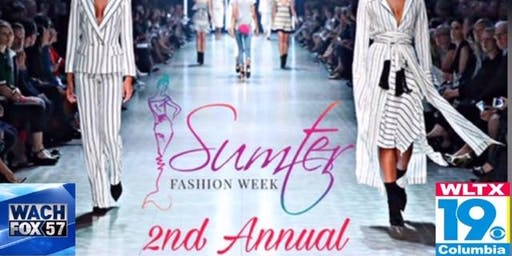 "Sumter Fashion Week 2019 "" Sumter's Initiation To Fashion"" The Grand Finale"
