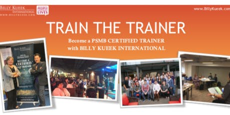 HRDF Train The Trainer - Billy Kueek International  tickets