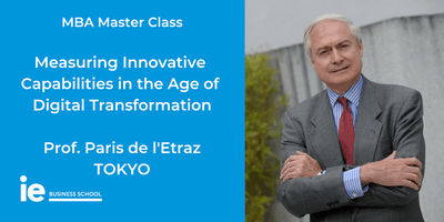 MBA Master Class: Measuring Innovative Capabilities in the Age of Digital Transformation