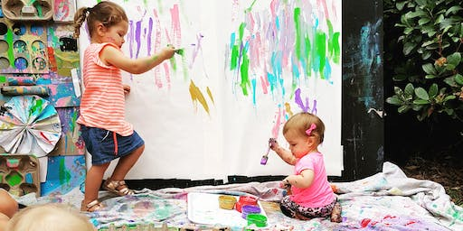Term 2 VALUE FOUR SESSION PASS: The Messy Paint & Play Playtime