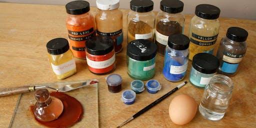 Classical Egg Tempera Painting Techniques