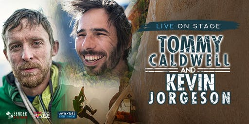 Tommy Caldwell and Kevin Jorgeson Live on Stage with The Dawn Wall - Melbourne