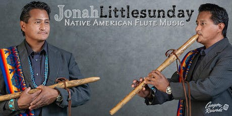9211d567b4dac9 Nationally Acclaimed Native American Flautist Jonah Littlesunday is  Performing in Gloucester MA Tickets