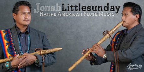 Nationally Acclaimed Native American Flautist Jonah Littlesunday Performing in Peabody MA tickets