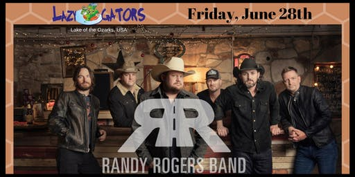 Randy Rogers Band at Lazy Gators