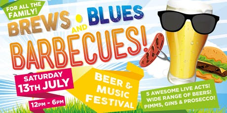 Brews, Blues & Barbecues 2019 tickets