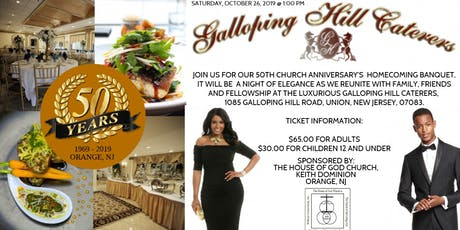 HOGC ORANGE NJ HOMECOMING BANQUET tickets