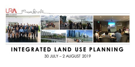 Integrated Land Use Planning (30 July - 2 August 2019) tickets