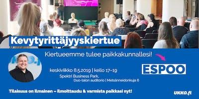Kevytyrittäjyyskoulutus, Espoo