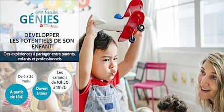 Ateliers parents-enfants-professionnels Graines de Génies Paris 3 billets