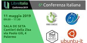 Conferenza LibreItalia Palermo 2019