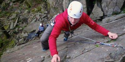 Multi Pitch Rock Climbing Snowdonia
