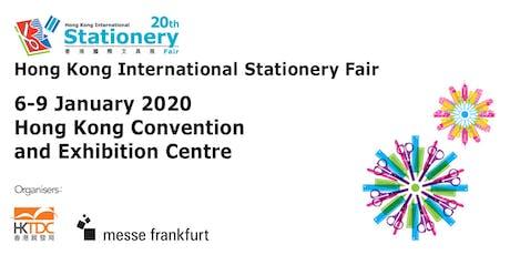 Hong Kong International Stationery Fair 2020 tickets
