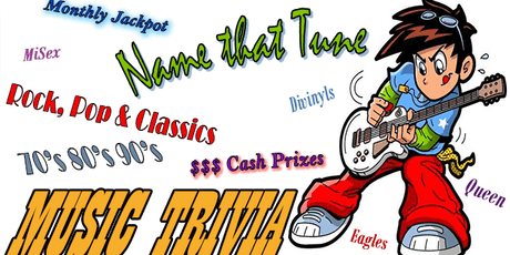 Music Trivia - Name that Tune tickets