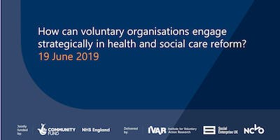 How can voluntary organisations engage strategically?