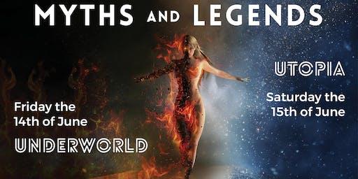 The Irish Burlesque Academy Presents 'MYTHS & LEGENDS'