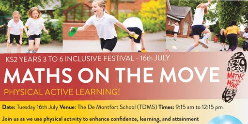 Maths on the Move Free Festival - 16th July 2019