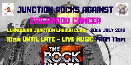 Junction Rocks Against Childhood Cancer in North Wales tickets