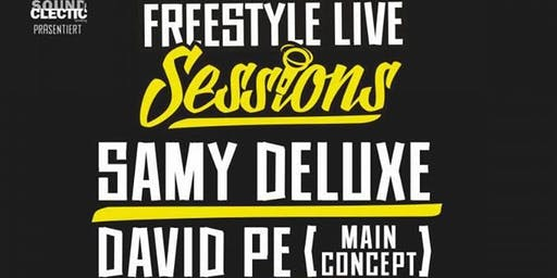 FREESTYLE LIVE SESSIONS w/ Samy Deluxe, David Pe, Roger Rekless + Tribes of Jizu