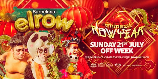 elrow Barcelona Off Week