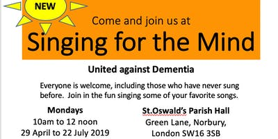Singing for the Mind SW16