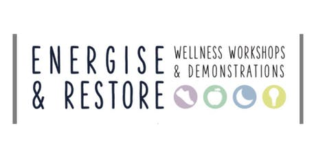 Energise and Restore Workshop tickets